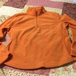Gap brand woman's small half zip fleece top